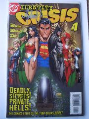 2 x Identity Crisis #1 Dynamic Forces DF Signed Turner & Bair COA Ltd 399 Number Matched Set!